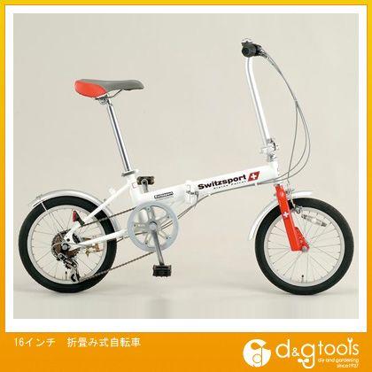 エスコ 16インチ折畳み式自転車 (EA986Y-12A)
