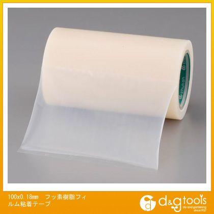 エスコ 100x0.18mmフッ素樹脂フィルム粘着テープ (EA944NJ-166)