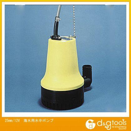 エスコ 12V 海水用水中ポンプ 25mm (EA345ED-12)