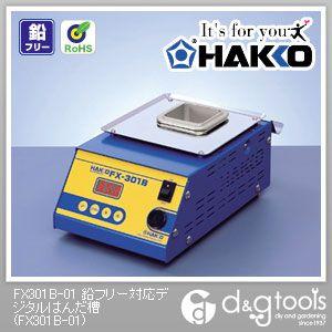 白光/HAKKO ハッコーFX-301B100V2極接地プラグ FX301B-01