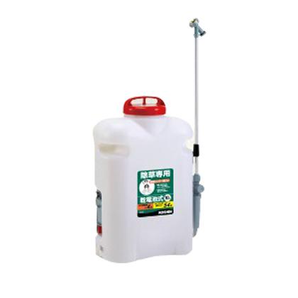工進 背負電池式噴霧器除草名人除草剤専用・乾電池式 10L JS-10