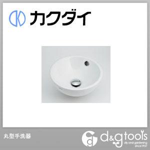 カクダイ/KAKUDAI 丸型手洗器 493-018