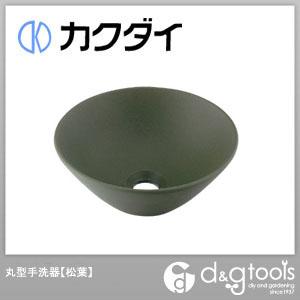 カクダイ 丸型手洗器 松葉 493-011-YG
