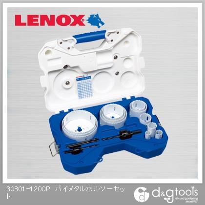 レノックス バイメタルホールソーセット(配管工事セット) 30801-1200P