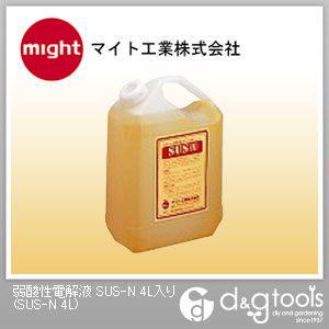 マイト工業 弱酸性電解液 SUS(N) 鏡面用  SUS-N 4L