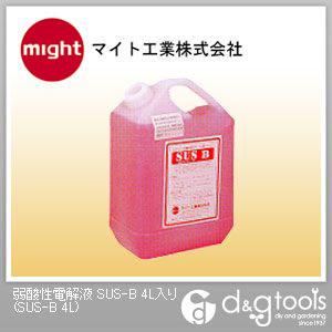マイト工業 弱酸性電解液  SUS-B 4L