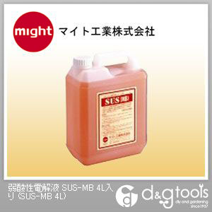 マイト工業 弱酸性電解液  SUS-MB 4L