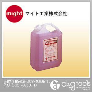 マイト工業 弱酸性電解液 (SUS-4000B 1L) マイト工業 溶接用アクセサリー 付着剤
