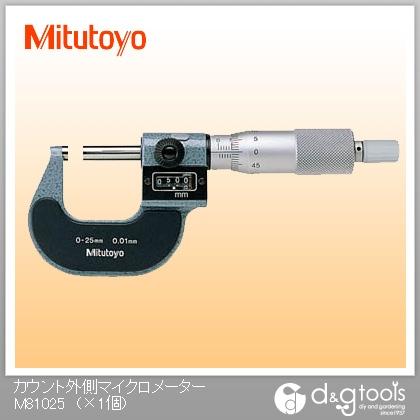 ミツトヨ カウント外側マイクロメーター(193-101)  M810-25