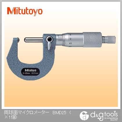 ミツトヨ 両球面マイクロメーター(115-215)  BMD-25