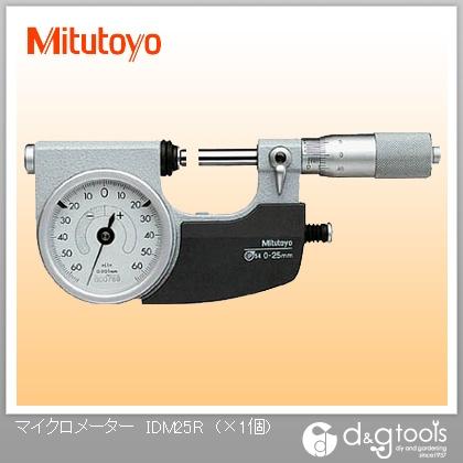 人気満点  指示マイクロメーター(510-121) SHOP FACTORY IDM-25R:DIY  ONLINE ミツトヨ-DIY・工具