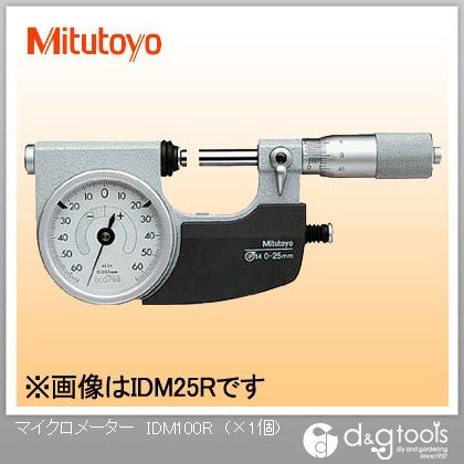 ミツトヨ 指示マイクロメーター(510-124) IDM-100R