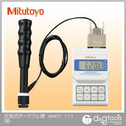 ミツトヨ 反発式ポータブル硬度計 HH411