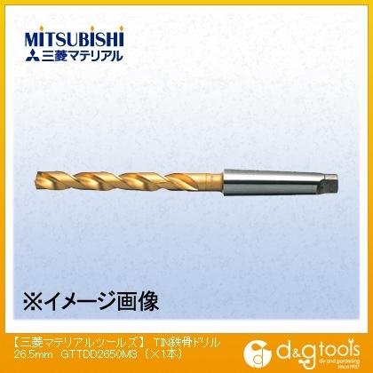 三菱マテリアル TIN鉄骨ドリル 26.5mm MMCA4324 1 本