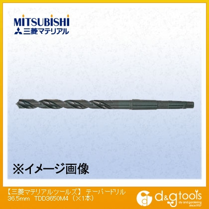 三菱マテリアル テーパードリル 36.5mm TDD3650M4 1 本