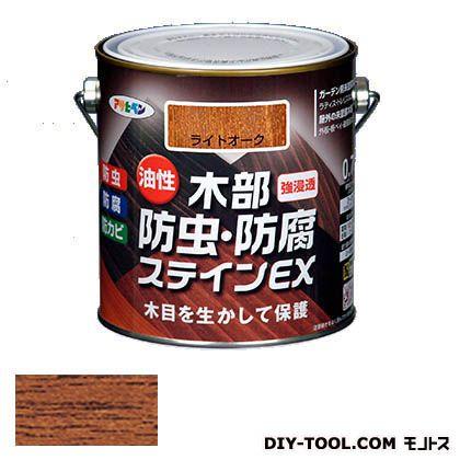 木目を生かした美しい仕上がりに アサヒペン 木部防虫 防腐ステインEX 激安格安割引情報満載 商い 油性木部用塗料 0.7L チーク