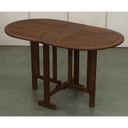 アサヒペン フォールディングオーバルテーブル (AC-DT120)