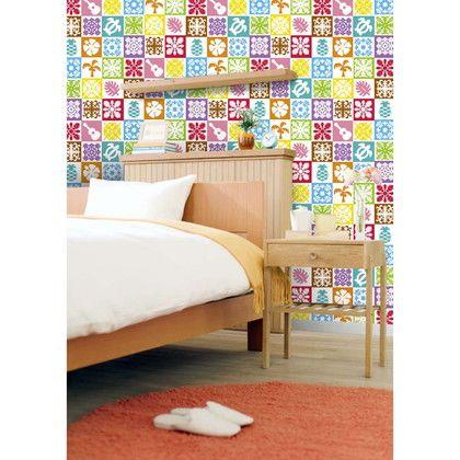 アサヒペン デジタルプリント壁紙 46cm×15m N-016
