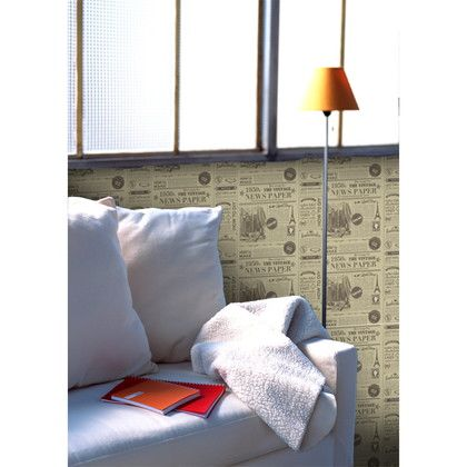 アサヒペン デジタルプリント壁紙 46cm×15m V-001