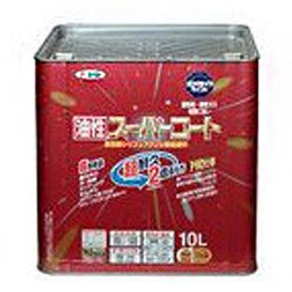 アサヒペン 油性スーパーコート 白 10L