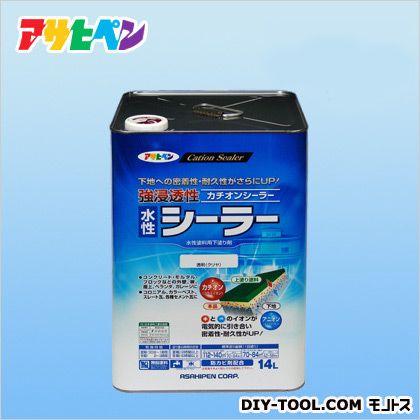 アサヒペン 強浸透性水性シーラー クリヤ 14L プライマー 塗料 下塗り