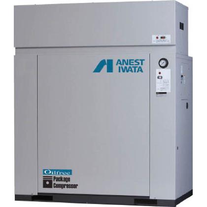 アネスト岩田 オイルフリーコンプレッサ 単相100V 0.75KW 単相100V 60Hz (CFP07C8.5DC6)