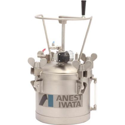 アネスト岩田 ステンレス加圧タンク 手動攪拌器付仕様 10L (COT-10HL)