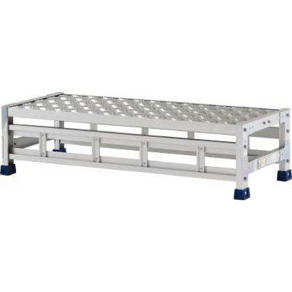 アルインコ 作業台(天板縞板タイプ)1段 (CSBC-121S) 1台