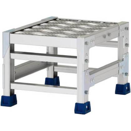 アルインコ 作業台(天板縞板タイプ)1段 (CSBC-123S) 1台