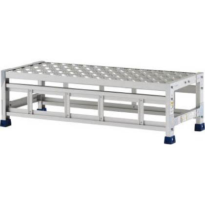 アルインコ 作業台(天板縞板タイプ)1段 (CSBC-131S) 1台