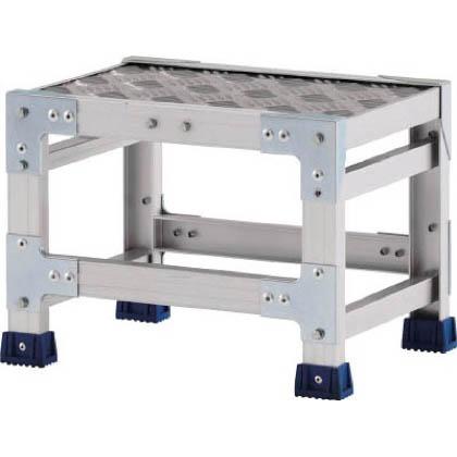 アルインコ 作業台(天板縞板タイプ)1段 (CSBC-133S) 1台