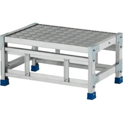 アルインコ 作業台(天板縞板タイプ)1段 (CSBC-136S) 1台