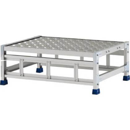 アルインコ 作業台(天板縞板タイプ)1段 (CSBC-138WS) 1台