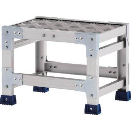 アルインコ 作業台(天板縞板タイプ)1段 (CSBC-146S) 1台