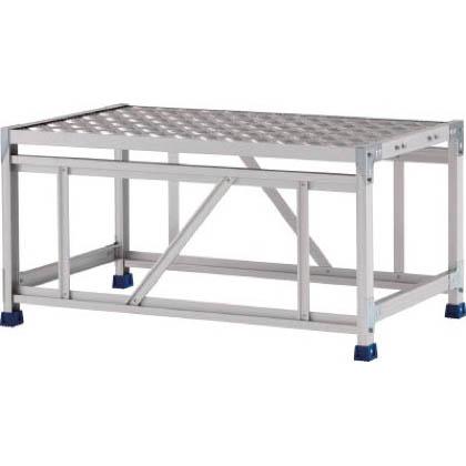 アルインコ 作業台(天板縞板タイプ)1段 (CSBC-151S) 1台