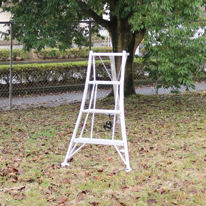 アルミ製園芸三脚 シルバー シルバー (KWX120) 天板高さ:1.15m 天板高さ:1.15m (KWX120), SHELTER:4b68b1a5 --- officewill.xsrv.jp
