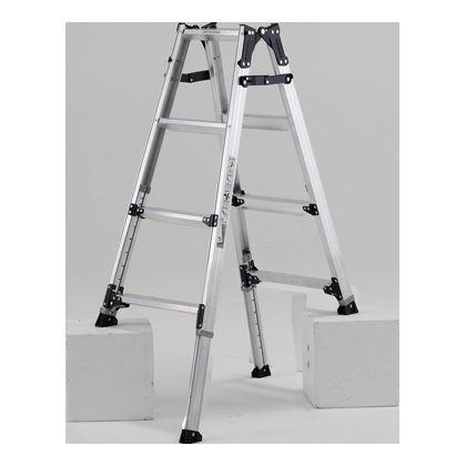 脚伸縮はしご兼用脚立 天板高さ1.0-1.3m (PRW120FX)