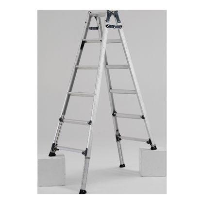 脚伸縮はしご兼用脚立 天板高さ1.59-1.89m (PRW180FX)
