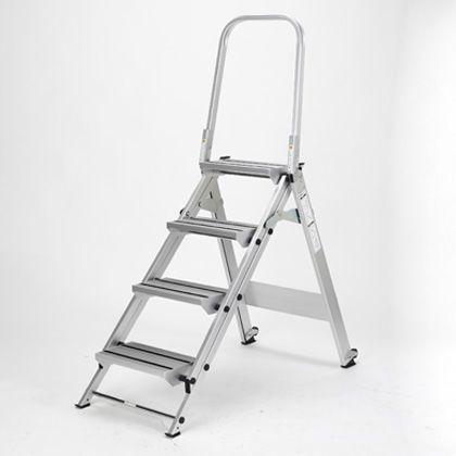 折りたたみ式作業台 天板高さ:0.88m シルバー (WFS4B)