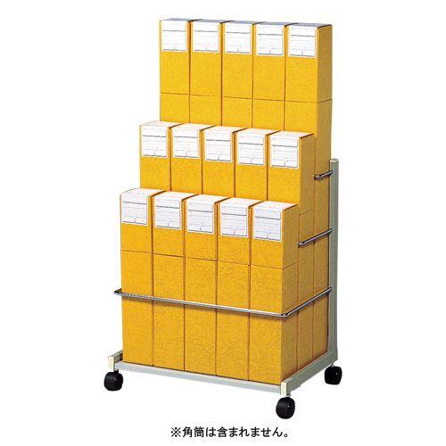 静岡コピーセンタ 図面筒整理ワゴンKW-2 (KW-2)  文具・OA機器 文具・事務用品