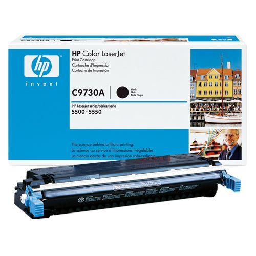 HP HP C9730A トナー純正 ブラック (HP-EPC9730AJ)  文具・OA機器 文具・事務用品