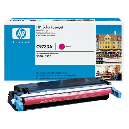 HP HP C9733A トナー純正 マゼンタ (HP-EPC9733AJ)  文具・OA機器 文具・事務用品