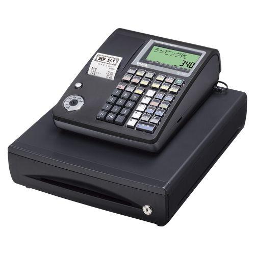 カシオ 電子レジスターTE-340-BK ブラック (TE-340-BK)  文具・OA機器 文具・事務用品