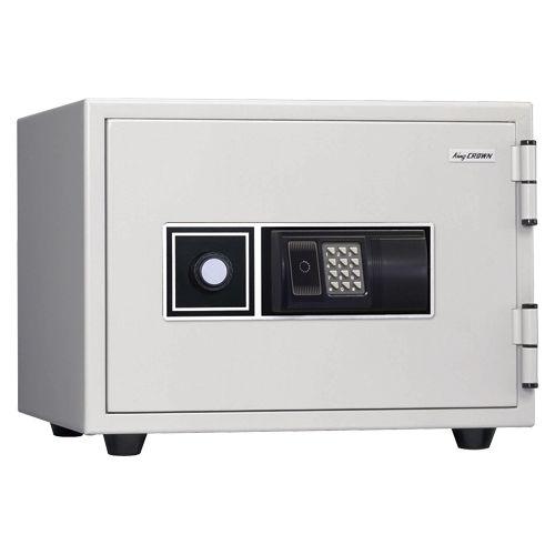 キング工業 フェリカ認証耐火金庫 オフホワイト (KS-20RFE)  文具・OA機器 文具・事務用品