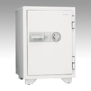 キング工業 耐火金庫 オフホワイト (KMX-50SDA)  文具・OA機器 文具・事務用品