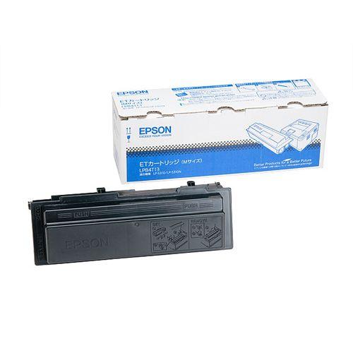エプソン レーザープリンタ用ETカートリッジ ブラック (LPB4T13)  文具・OA機器 文具・事務用品