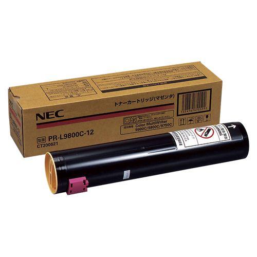 NEC PR-L9800C-12 マゼンタ (NE-TNL9800-12J)  文具・OA機器 文具・事務用品:DIY FACTORY ONLINE SHOP