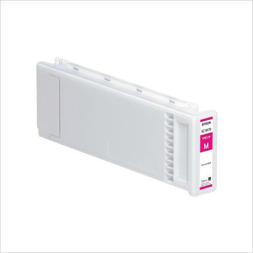 エプソン インクカートリッジ700lm マゼンタ (SC1M70)  文具・OA機器 文具・事務用品