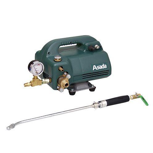 アサダ 高圧洗浄機440 圧力計付 エアコン洗浄用 (EP45H)