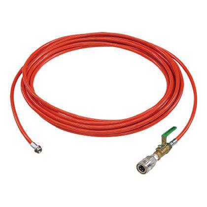 アサダ 1/4PU洗管ホース コック付 10m クイックカプラ仕様 (HD03222)